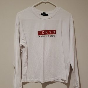 Forever 21 Tokyo Graphic Long Sleeve